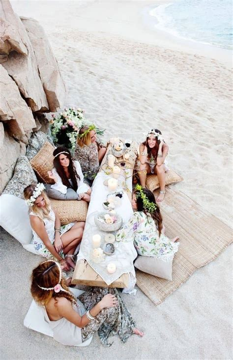 boho beach wedding   page    cute