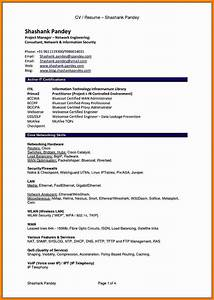 8  Cv Resume Format Pdf