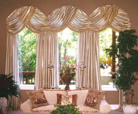 custom arched window treatment for a carolina room