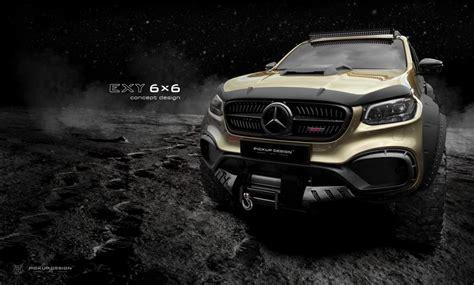 2018 mercedes xclass x 250 d tire: Conoce a este monstruo del off-road: la Mercedes-Benz X-Class EXY 6X6 | BQN