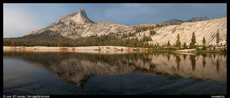 Panoramic Picturephoto Lower Cathedral Lake Late