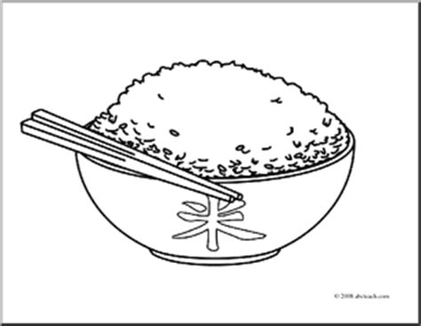 Coloring Rice by Rice Clipart Clipart Suggest