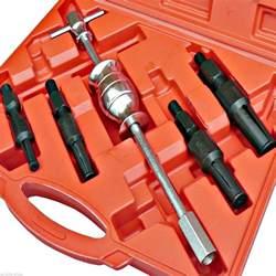 5pc blind hole inner bearing puller set slide hammer