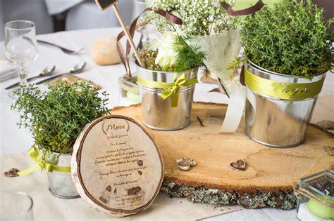 decoration mariage champetre nature