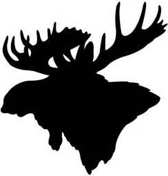 Elk Head Silhouette | Free vector silhouettes
