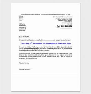 Doctor Appointment Letter Template  14+ Samples, Examples, Formats