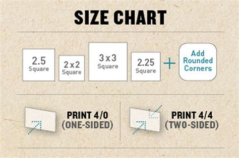 Square Shape Business Card Printing Service