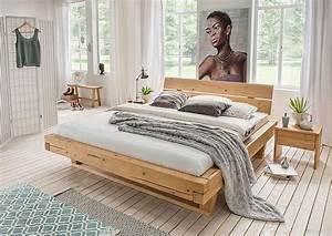 Massivholz, Doppelbett, 180x200, Fichte, Rustikal, Ge, U00f6lt, Holz, Balken, Bett, Bettgestell