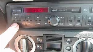 Radio Audi Concert : audi concert d bloquer autoradio sur tt mk1 youtube ~ Kayakingforconservation.com Haus und Dekorationen