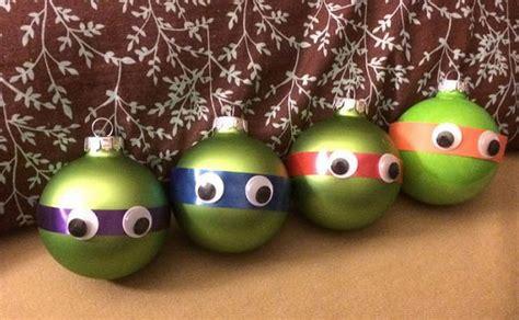 funny christmas tree balls with cartoon characters