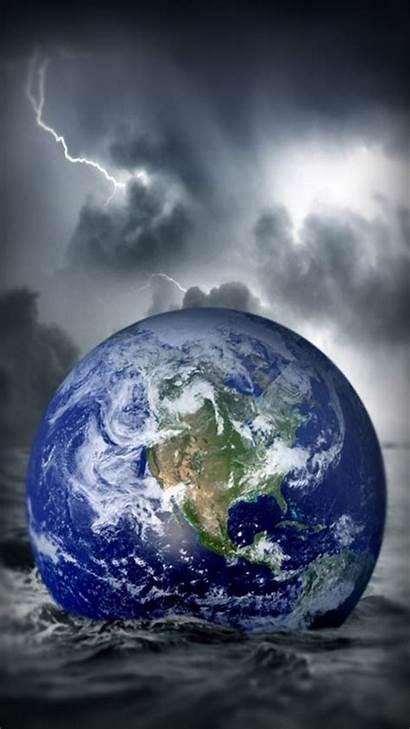 Earth Iphone Wallpapers Globe Ocean Fantasy Fall