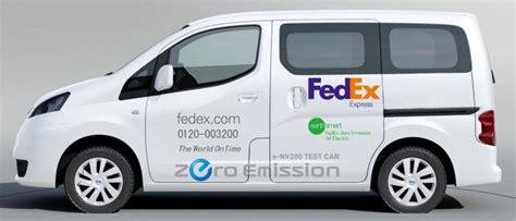 Fedex express, fedex ground, fedex home delivery ®, fedex smartpost ® and fedex freight rates increased.; FedEx testing electric Nissan e-NV200 in Yokohama