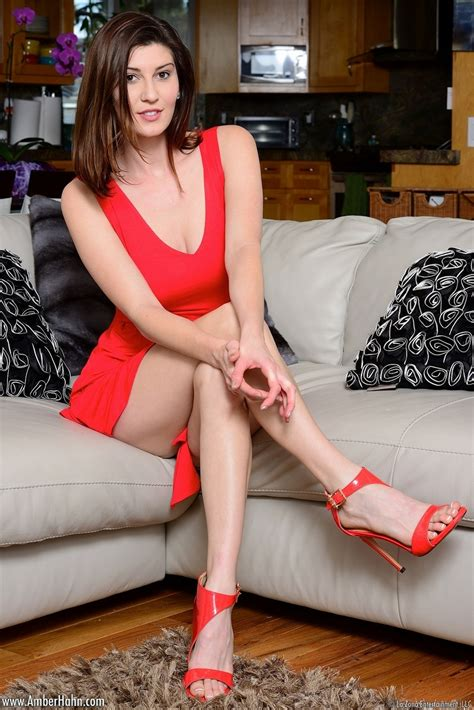 Amber Hahn Lady In Red