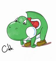 How To Draw Yoshi From Mario