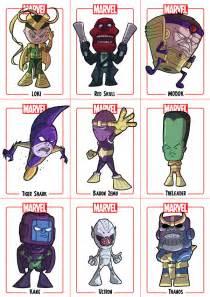 Chibi Marvel Villains