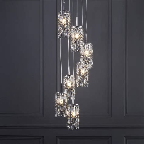 marquis by waterford lagan led 7 light cascading