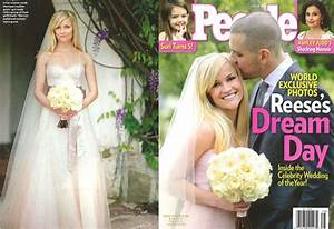 reese witherspoon39s monique lhuillier wedding dress With reese witherspoon wedding dress