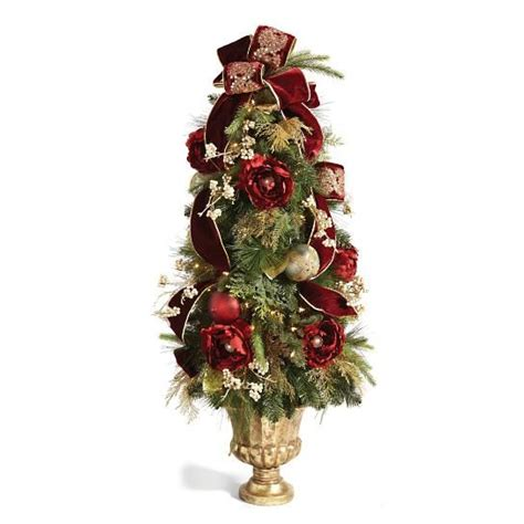 ideas  pre decorated christmas trees