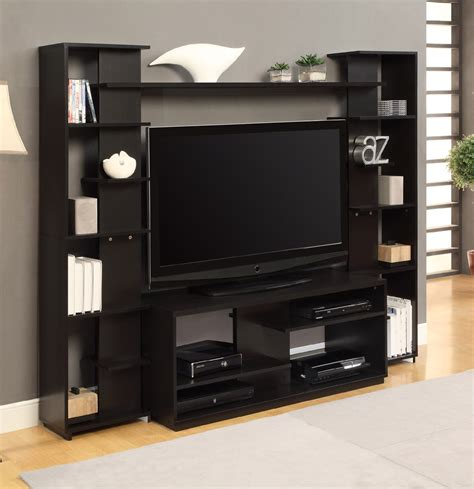 altra home entertainment center with reversible back