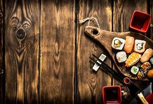 Laeacco Old Wooden Board Texture Delicious Food Photography Backgrounds Customized Photographic ...