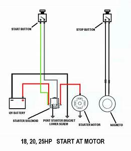 Wiring Switch To Starter Solenoid Etc  Page  1