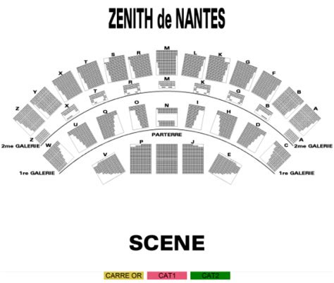 plan salle zenith nantes plan zenith nantes