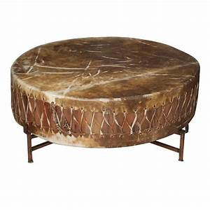 xjpg With copper drum coffee table