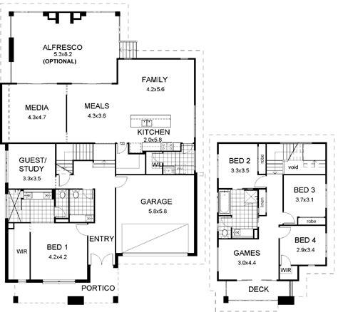 floor plans for split level homes floor plan friday split level modern
