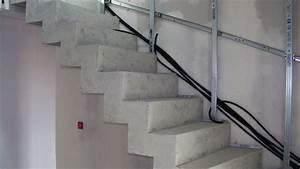 Habiller Un Escalier En Béton Brut : habillage escalier b ton avec des marches en bois 19 messages ~ Nature-et-papiers.com Idées de Décoration