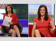BBC mocks Susanna Reid's pantflashing sofa moment in W1A