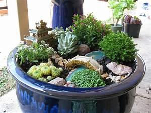 Mini Succulente Pas Cher : le mini jardin japonais s r nit et style exotique ~ Teatrodelosmanantiales.com Idées de Décoration