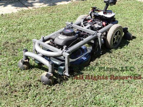 custom plans to build an engineered remote lawn mower pdf and dvd ebay