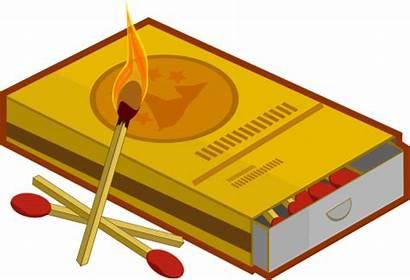 Clipart Cerillos Matchbox Matches Transparent Match Nature