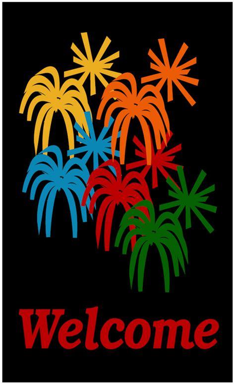 fireworks  mats   rugs  american floor mats