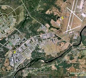 Satellite Map Of Sites 1 And 2  From Google Maps