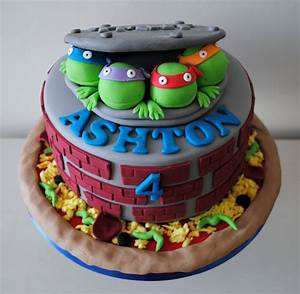 Teenage Mutant Ninja Turtles Birthday Cake Ideas