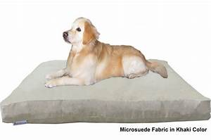 xxl orthopedic waterproof memory foam dog bed for large With extra tough dog bed
