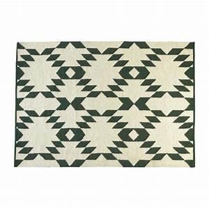gould tapis en laine 170x240 habitat With tapis ethnique avec transport canapé particulier
