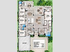 House Plan 20700031 Contemporary Plan 3,591 Square