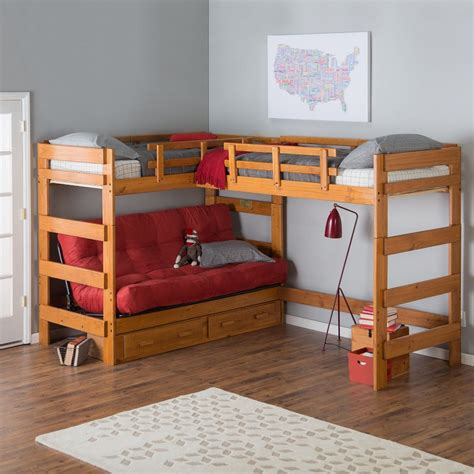 loft bed with bunk bed with amazing functions that you can use