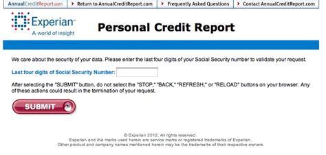 experian credit bureau annualcreditreport com