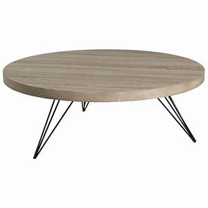 Table Basse Design Renovee Bois Et Fer