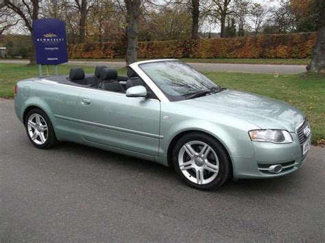 convertible audi used used audi a4 2007 petrol 2 0t fsi sport convertible silver