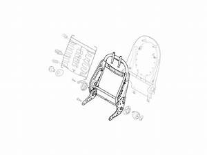 Mini Cooper Cooper S R50 R52 R53 Gen1 Oem Seat Bac