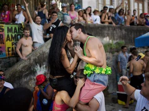 brazilian health officials add no kissing and no sex