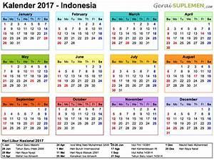 2020 Yearly Calendar Word Kalender 2017 Indonesia Hari Libur Nasional Kalender