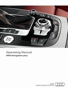 Audi Mmi Navigation Plus Operating Manual - Zofti