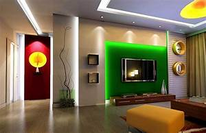 Green tv wall living room design d house free