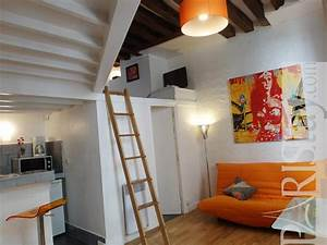 Studio Mezzanine Paris : paris studio apartment rental saint germain 75006 ~ Zukunftsfamilie.com Idées de Décoration
