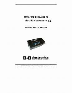 Mini Poe Ethernet To Rs